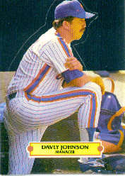1988 Donruss Pop-Ups Baseball Cards    020      Davey Johnson MG