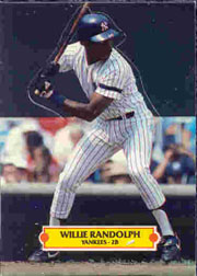 1988 Donruss Pop-Ups Baseball Cards    003      Willie Randolph