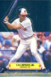 1988 Donruss Pop-Ups Baseball Cards    005      Cal Ripken