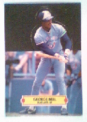 1988 Donruss Pop-Ups Baseball Cards    006      George Bell