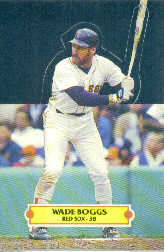 1988 Donruss Pop-Ups Baseball Cards    007      Wade Boggs