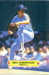 1988 Donruss Pop-Ups Baseball Cards    008      Bret Saberhagen