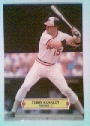 1988 Donruss Pop-Ups Baseball Cards    009      Terry Kennedy