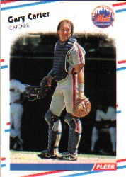 1988 Fleer Baseball Cards      130     Gary Carter
