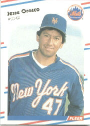 1988 Fleer Baseball Cards      148     Jesse Orosco