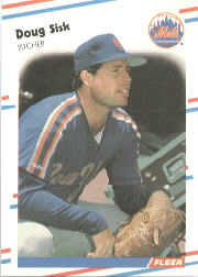 1988 Fleer Baseball Cards      150     Doug Sisk