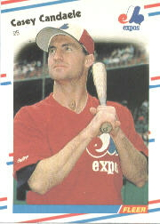 1988 Fleer Baseball Cards      181     Casey Candaele