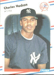 1988 Fleer Baseball Cards      210     Charles Hudson