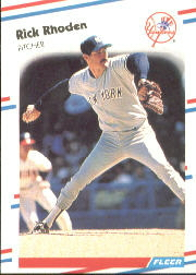1988 Fleer Baseball Cards      219     Rick Rhoden