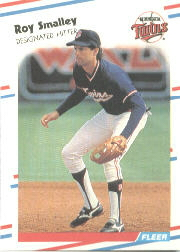 1988 Fleer Baseball Cards      022      Roy Smalley