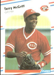 1988 Fleer Baseball Cards      240     Terry McGriff
