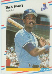 1988 Fleer Baseball Cards      253     Thad Bosley