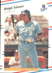 1988 Fleer Baseball Cards      269     Angel Salazar