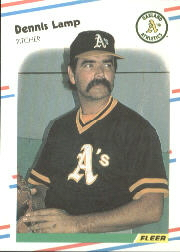 1988 Fleer Baseball Cards      284     Dennis Lamp