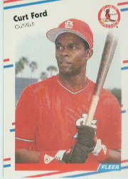 1988 Fleer Baseball Cards      032      Curt Ford