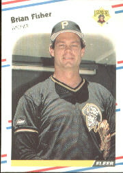 1988 Fleer Baseball Cards      329     Brian Fisher