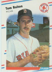 1988 Fleer Baseball Cards      346     Tom Bolton