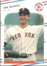 1988 Fleer Baseball Cards      364     Joe Sambito