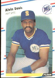 1988 Fleer Baseball Cards      373     Alvin Davis