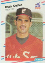 1988 Fleer Baseball Cards      398     Ozzie Guillen