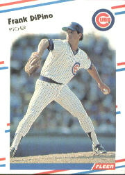 1988 Fleer Baseball Cards      418     Frank DiPino