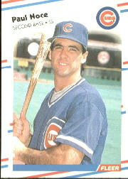 1988 Fleer Baseball Cards      428     Paul Noce