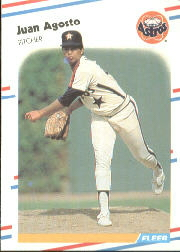 1988 Fleer Baseball Cards      437     Juan Agosto