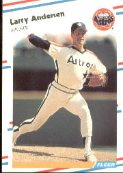 1988 Fleer Baseball Cards      438     Larry Andersen