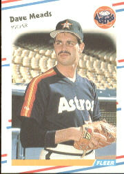 1988 Fleer Baseball Cards      453     Dave Meads
