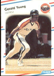 1988 Fleer Baseball Cards      460     Gerald Young