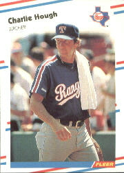 1988 Fleer Baseball Cards      469     Charlie Hough