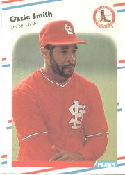 1988 Fleer Baseball Cards      047      Ozzie Smith