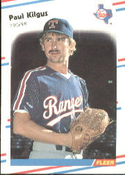 1988 Fleer Baseball Cards      471     Paul Kilgus