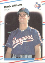 1988 Fleer Baseball Cards      482     Mitch Williams