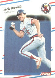 1988 Fleer Baseball Cards      491     Jack Howell