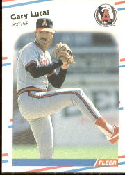 1988 Fleer Baseball Cards      495     Gary Lucas