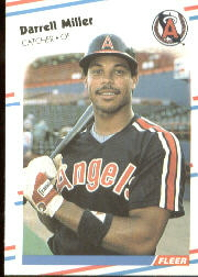 1988 Fleer Baseball Cards      498     Darrell Miller