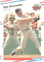 1988 Fleer Baseball Cards      005      Tom Brunansky