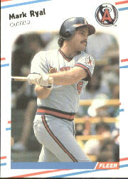 1988 Fleer Baseball Cards      503     Mark Ryal