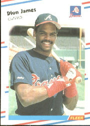 1988 Fleer Baseball Cards      543     Dion James