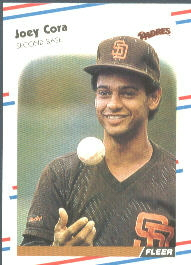 1988 Fleer Baseball Cards      580     Joey Cora RC