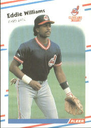 1988 Fleer Baseball Cards      620     Eddie Williams RC