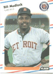 1988 Fleer Baseball Cards      063      Bill Madlock