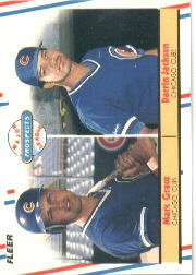 1988 Fleer Baseball Cards       641     Mark Grace/Darrin Jackson RC