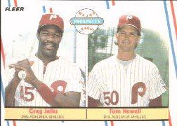 1988 Fleer Baseball Cards       648     Tom Newell/Greg Jelks RC