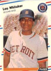 1988 Fleer Baseball Cards      075      Lou Whitaker