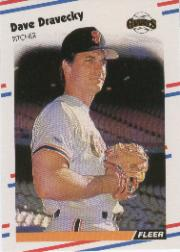 1988 Fleer Baseball Cards      081      Dave Dravecky