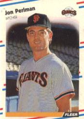 1988 Fleer Baseball Cards      093      Jon Perlman