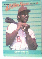 1988 Fleer All-Stars Baseball Cards    010      Juan Samuel