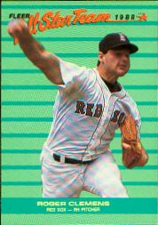 1988 Fleer All-Stars Baseball Cards    004      Roger Clemens